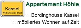 Wohnen auf Zeit in Kassel, Appartement Höhle